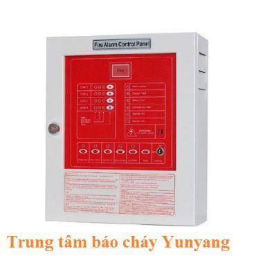 Tủ trung tâm báo cháy 2 kênh YUNYANG YF3-0002L bao gồm Acquy
