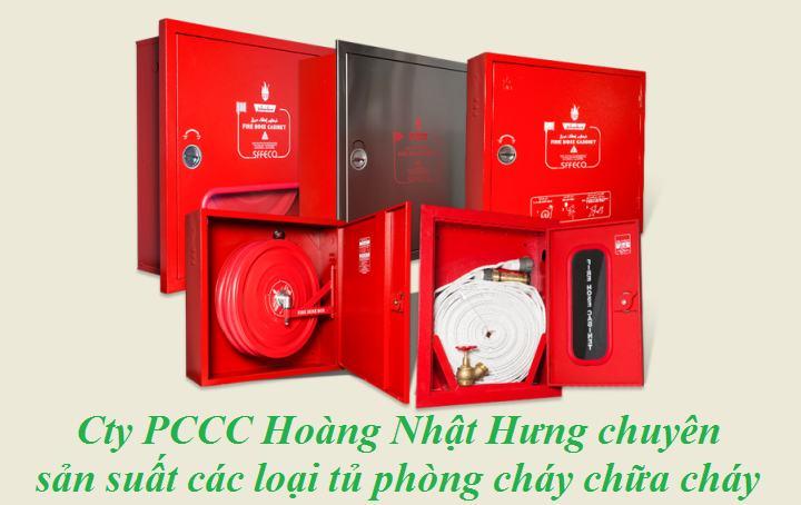 PCCC Hoàng Nhật Hưng chuyên sản xuất và kinh doanh tủ chữa cháy