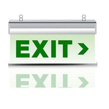 Đèn exit 2 Led mặt Rạng Đông